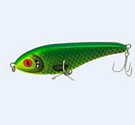 """1 pc Esche rigide Verde 76 g/> 1 Oncia,160 mm/6"""" pollice,Plastica dura / Tessuto sinteticoPesca di mare / Pesca a mosca / Pesca a"""