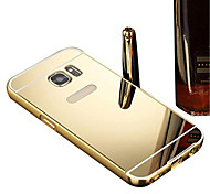 Luxury Aluminum Metal Mirror PC Back Case Cover For Samsung Galaxy A310/A510/A710/A3/A5/A7/A8/A9