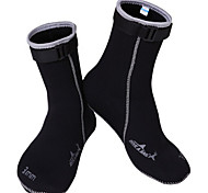 Water Shoes/Water Booties & Socks 3mm Protective Diving / Snorkeling Surfing Neoprene Black