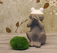 Creative Garden Cement Crafts Frog Style Home Furnishing Decoration
