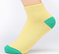 6 paia calze di cotone delle donne calze sportive di alta qualità per l'esecuzione di / yoga / fitness / calcio / golf