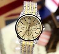 Men's Fashion Watch Fashion Three Six-Pin Steel Quartz Watch