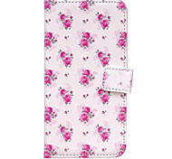 Rose Around with Inserted Capitol Sets Stent for Samsung Galaxy S5/S6/S6Edge/S7/S7Edge/S7Plus