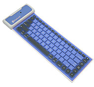 Bluetooth Waterproof Folding Silicone Soft Keyboard For iOS/Androids/Windows System