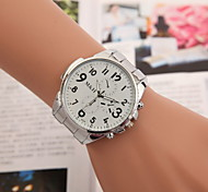 Men's Fashion Watch Alloy Band Watch