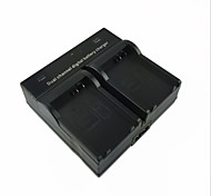 LPE8 EU Digital Camera Battery Dual Charger for Canon EOS 700D 650D 600D 550D