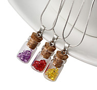 HUALUO®Retro sweater accessories glass stones glass pendant trumpet