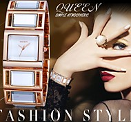 WEIQIN®Luxury Hardlex Gold Mirror Strap Women's Bracelet Watches Colorful Square Dial Fashion Watch Relogio Feminino