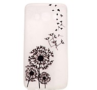 For Samsung Galaxy Case Glow in the Dark Case Back Cover Case Dandelion TPU Samsung J5 (2016)