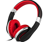 Kanen I20 Foldable 3.5mm Hi-Fi Stereo Over-ear Headphones For iPhone Samsung In-line Volume Control Microphone