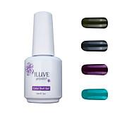 ILuve Gel Nail Polish Set - Pack Of 4 - Long Lasting 3 Weeks Soak Off UV Led Gel Varnish – For Nail Art #4001
