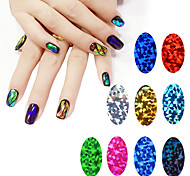 2016 New 1pcs Shiny Star Design Nail Art Foils Stickers Adhesive Nail Decals Decoration Manicure Tools