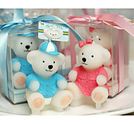 New Teddy Party Birthday Decroration Valentine's Day Home Party wedding Candle Cake Candle velas
