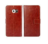 Пу кожа рисунок высокого качества бумажник чехол для Samsung Galaxy s7 / s6 / s7 края / s7 край + / s6 край / s6 край + (ассорти цветов)