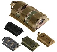 LS1645 Outdoor Tactical Military Nylon Army Fans Camo Pouch Bag hiking Waist Bag Pouch Case - 5 Color