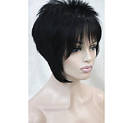 2015 New arrival Wigs SexyShort Straight Blonde Synthetic hair wigs Full Wig for women Free shipping