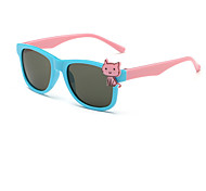 Kids Fashion Cute Cat Square Sunglasses (Random Color)