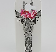 Deer Head Painted TPU Phone Case for Galaxy A3(2016)/A5(2016)
