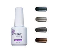ILuve Gel Nail Polish Set - Pack Of 4 - Long Lasting 3 Weeks Soak Off UV Led Gel Varnish – For Nail Art #4020