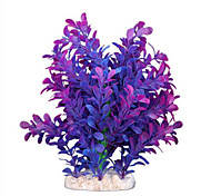 Purple Artificial Water Plants for Aquarium