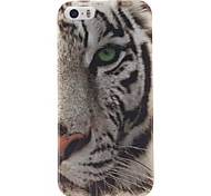 White Tiger Design IMD+TPU Back Cover Case iPhone SE iPhone 5 iPhone 5S