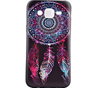 Campanula  Pattern TPU Phone Case For Samsung Galaxy J1 /Galaxy J5 / G5308 / G360