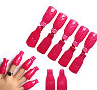 Remover Gel Polish Nail Art Soakers UV Nail Degreaser Polish Wrap Tool Nails Remover Soak Off Cap Clip