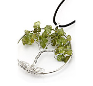 Ethnic fashion crystal pendant natural crystal Lucky Tree Wisdom Tree of Life pendant pendant wholesale
