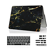 "3 in 1 marmer full body case + afdekking van het toetsenbord + stof plug voor de MacBook Air 11 ""retina 13"" / 15 """