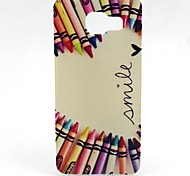 Pencil Love Pattern TPU Case for Samsung Galaxy A5(2016)/A3(2016)