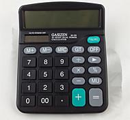 1PC  Calculator Solar Office Special Calculator Financial Accounting Office(Style random)