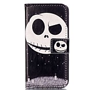 clever and lovely child Pattern PU Leather Case with Card Slot and Stand for iPhone SE/5S/5