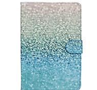 grüne Sand-Muster PU-Leder Ganzkörper-Fall mit Standplatz für ipad mini 1/2/3