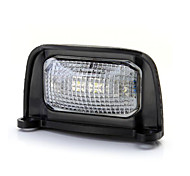 0.5W 4 LED-Weißlicht-Lampe wasserdicht Auto abs Platte