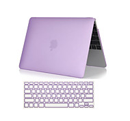 "2 in 1 Crystal Clear Soft-Touch  Full Body Case with Keyboard Cover for  MacBook  Air 11""/13""(Assorted Colors)"