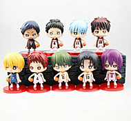 Kuroko no Basket Anime Action Figure 8CM Model Toys Doll Toy