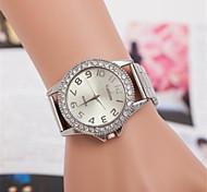 europa e venda de pares de quartzo suíço relógios de aço de moda liga de diamante