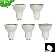 5PCS GU10 7W 3000K Warm White 21SMD 2835 LED 500LM LED Spot Light Bulb 110-240V