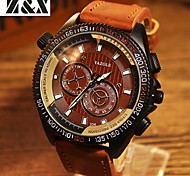 YAZOLE Brand Men's Fashion  Quartz Alloy Night Light Watch (Assorted Colors) Wrist Watch Cool Watch Unique Watch