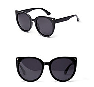 Polarized Cat Eye Fashion Mirrored Sunglasses