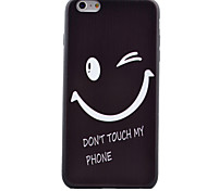 Smile  Pattern TPU Phone Case For iPhone 6/iPhone 6S