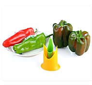 Useful 2Pcs Chili Peppers Seed Tomatoes Core Separator Device Kitchen Too Randomn Color