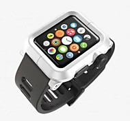 Genuine Leather Strap Wristband With Free Adapters for Apple Watch/ Sport/ Edition 42mm