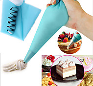 Stainless Steel Nozzle Tips Silicone Cream  Pastry Bag Pocket DIY Cake Cup Icing Piping Fondant Sugar Decorating Set