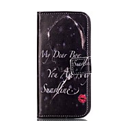 For Samsung Galaxy A5(2016) Card Holder with Stand Flip Magnetic Full Body Sexy Lady PU Leather