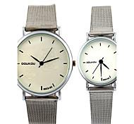 Correia dos homens relógios de moda feminina relógios relógios casal relógio de quartzo relógio de pulso