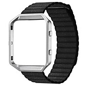 Fitbit Blaze Accessory Band Genuine Leather Magnet Lock Strap Fitbit Blaze (without Buckle and Frame)