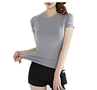 The New Short-sleeved T-shirt Quick-Drying Vest Sports And Fitness Outdoor Fitness Sports Reflective Tape T-Shirt