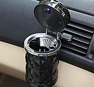 Car Accessories Portable Led Car Ashtray High Quality Universal Cylinder Holder Car Home Office