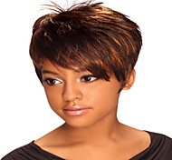 Hot Short Straight  Ladies' Synthetic Hair Mix Color Freeshipping Part Wigs